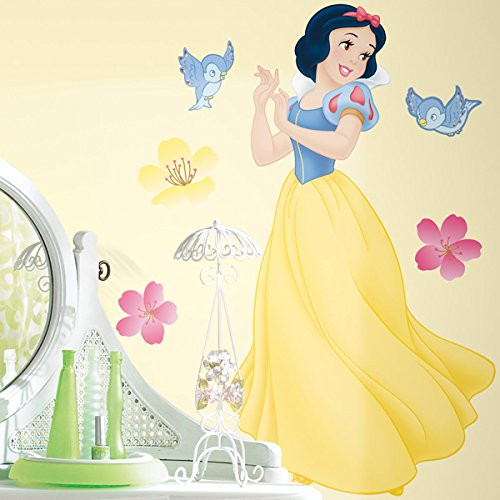 SNOW WHITE Enchanted Smashed Wall Decal Removable Wall Sticker Disney H211