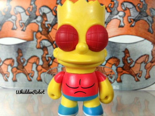 Kidrobot Figure Vinyl (Treehouse of Horror The Simpsons Kidrobot Bart the Fly 2/20 (Opened to Identify))