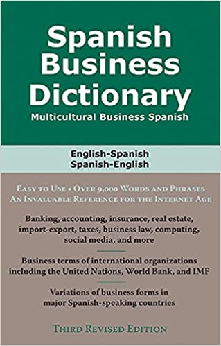 SPANISH BUSINESS DICTIONARY 3R