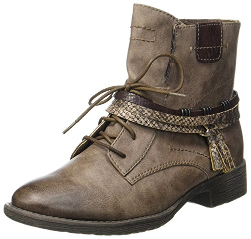 Jana Botas Para Mujer Beige taupe 25208 r8wP5Fxqr