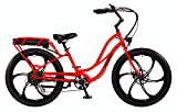 "Pedego Interceptor 26"" Step Thru Neon Orange with Mag Wheels 48V 10Ah"