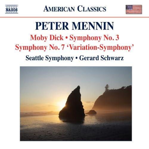 Mennin Moby Dick Symphonies Nos