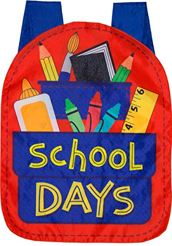- Briarwood Lane School Days Fall Applique House Flag Back to School 28