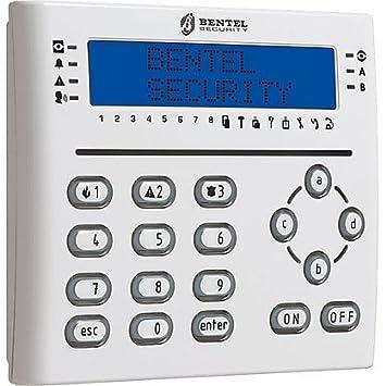 Teclado Security T-Line WHITE de Centrales de Alarma-Bentel ...