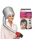 OMWAH Portable Hair Blow Dryer Cap Soft Bonnet Attachment