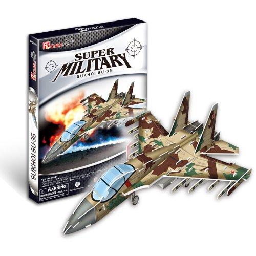 CubicFun P604H Sukhoi Fighter Jet Puzzle