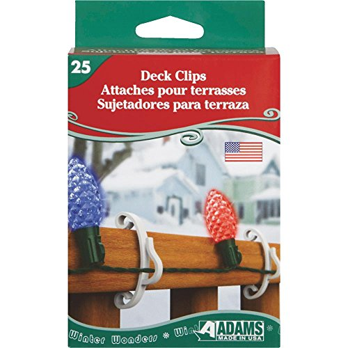 Christmas Light Clips For Decks