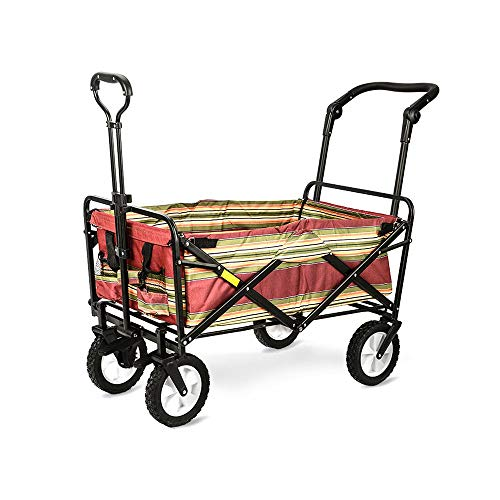ZCF YEUX Hand Trucks Folding ATV Outdoor Folding Trolley Folding Trolley car Trolley Linen Truck (Color : A)