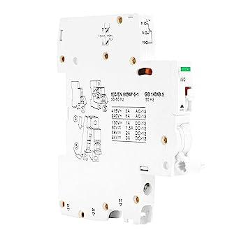 Alarma de contacto Terminal Interruptor de circuito Auxiliar ...