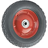 Best Rubber Wheels - Replacement Wheel with Offset Steel Hub - 8-Inch Review