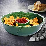 Emmering Chip & Dip Platter - 12.5 inch Premium Stoneware