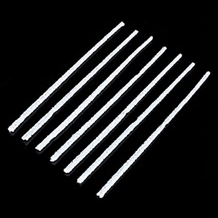 300 Pcs//Lot 3MM Intensive Cotton Pipe Cleaners DIY Cleaning Tool White