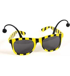 Bug Sunglasses Wayfarer Spotty Stripe Antenna Ladybird Bumblebee Cute Novelty