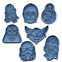Cuticuter Star Wars Pack Cookie Cutter, Blue