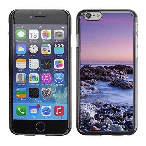 """Premio Sottile Slim Cassa Custodia Case Cover Shell // F00031955 Rocky shore // Apple iPhone 6 6S 6G PLUS 5.5"""""""