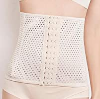 Women Short Waist Trainer Corset Sports Workout Hourglass