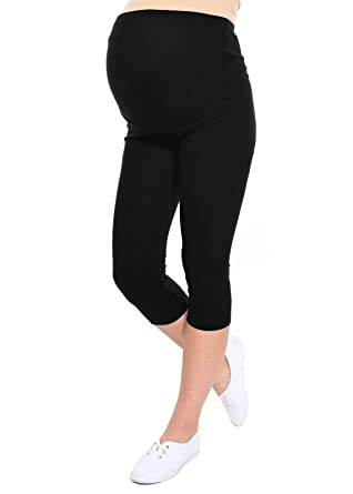 622ee717ee3d5 Oasi - Maternity Cropped 3/4 Leggings 95% Cotton 3082