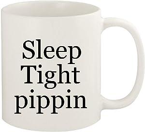 Sleep Tight pippin - 11oz Ceramic White Coffee Mug Cup, White