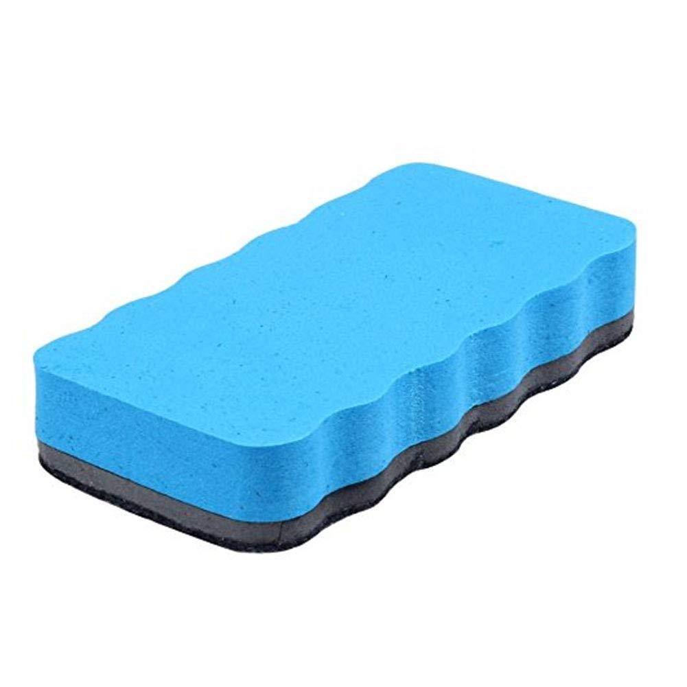 Mitschüler Magnetic Eraser White Board Éponge effaçable à sec Tableau effaçable à sec avec brosse magnétique Bleu [Office Product]