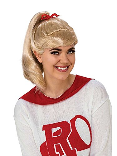 Olivia Newton John Costume (Rubie's Costume Co. Women's Grease, Good Sandy Wig, As Shown, One Size)