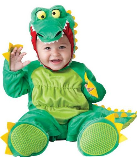 Alligator Baby Costumes (Goofy Gator Baby Infant Costume - Infant Medium)