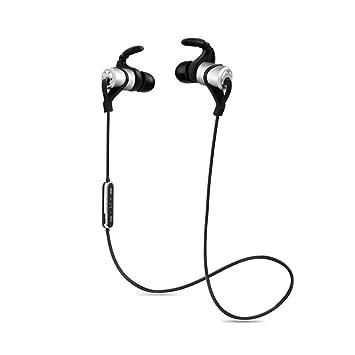 Auriculares Bluetooth, inalámbricos 4.1 HD estéreo. Auriculares deportivos