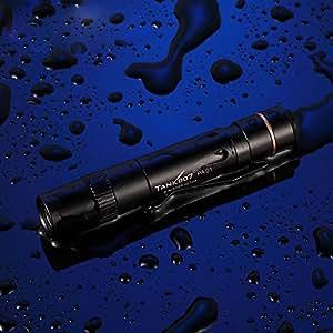 zytree (TM) Tank007PA01Mini linterna LED 90LM 1modo interruptor resistente al agua resistente a los impactos linterna de bolsillo