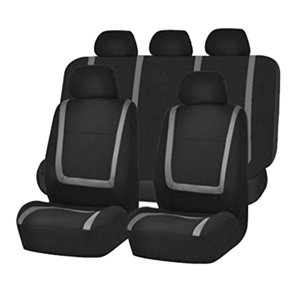 Auto-Schonbez/üge f/ür Die Vordersitze /& R/ückbank mit Airbag Polyester Auto-Sitzschoner Komplettset,Un tama/ño, GUOCU Autositzbez/üge Set Universal