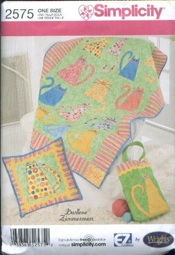 Simplicity 2575 Quilted Accessories designed by Darlene Zimmerman by Simplicity Pattern Company