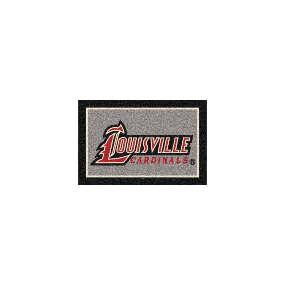 Louisville Cardinals 5 x 8 Team Door Mat Sports