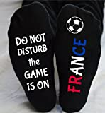 World Cup Socks France Do Not Disturb Unisex Funny Gift