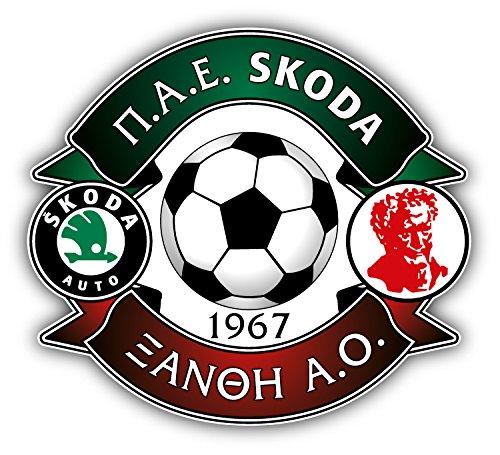Skoda Xanthi FC Greece Soccer Football Art Decor Vinyl Sticker 5'' X 4''