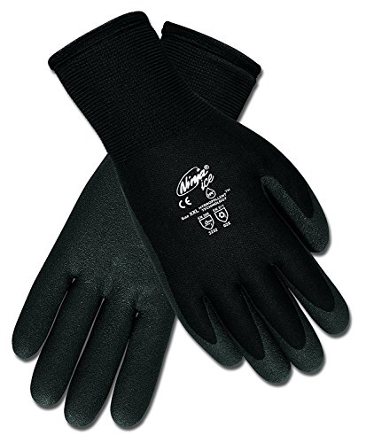 Safety Works CN9690M Coated Nylon Gloves, Medium 2-Pack by Safety Works