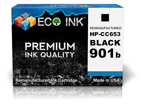 ECO INK Compatible / Remanufactured for HP 901 CC653AN (1 Black) Ink Cartridges for Officejet 4500, J4535, J4580, J4660, 4500 Wireless, J4540, J4585, J4680, J4524, J4550, J4624, J4680c, J4525