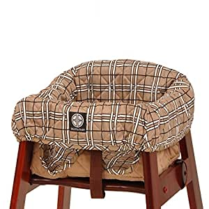 Amazon Com Balboa Baby High Chair Cover Tan Plaid