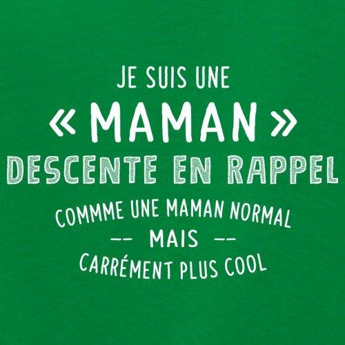 une maman normal descente en rappel - Femme T-Shirt - Vert - S