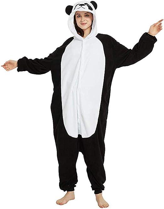Cocotoro Adulto Panda Pijamas Ropa de Noche del Traje de ...