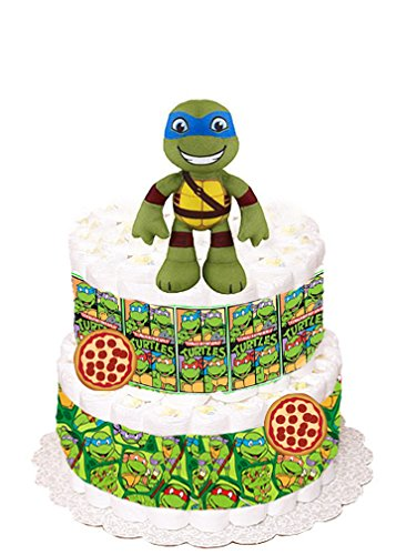 Teenage Mutant Ninja Turtles Diaper Cake - SMALL VERSION -