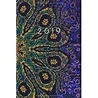 2019: ENE - DIC Agenda Semanal | 152 x 229 mm | 1 Semana en 2 Páginas | 52 Semanas Planificador y Calendario | Fantasía Mística