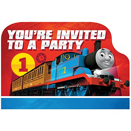 Thomas Invitations (8-pack) - Party