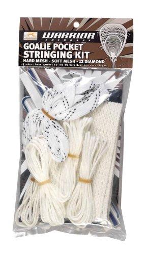 Warrior Soft Mesh Goalie String Kit (One Size, White)