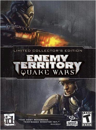 Amazon com: Enemy Territory: Quake Wars Limited Collector's