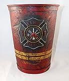 Firefighter Bathroom Wastebasket