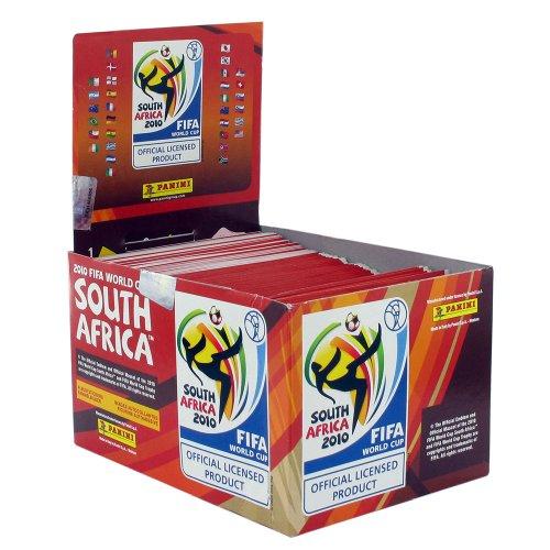 Panini 2010FIFA World Cup Afrique du Sud Stickers–1Boîte, 100paquets par boîte (lot de 100)