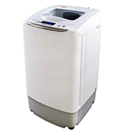 Amazon.com: Panda Small Compact Portable Washing Machine Fully ...