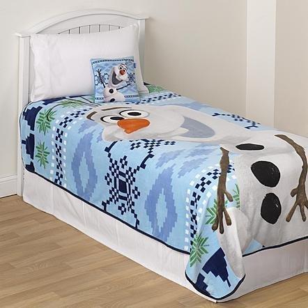 Disney Frozen Raschel Blanket 90 Inch