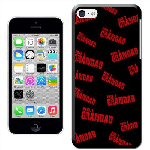 Fancy A Snuggle Number 1 Grand cadeau d'anniversaire fête des pères Coque arrière rigide à clipser pour Apple iPhone 5C