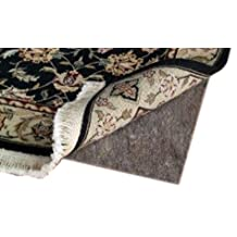 CraftRugs 4' X 6' Ultra Plush Non-Slip Rug Pad for Hard Surfaces and Carpet