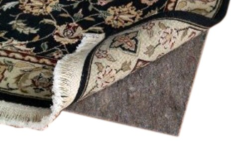 4' X 6' 6' X 9' Ultra Plush Non-Slip Rug Pad for Hard Surfaces and Carpet