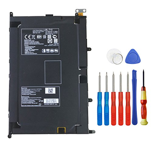 Wee 3.75V 4600mAh Replacement Battery BL-T10 for LG G PAD 8.3in TABLET V500 - V500 G Lg Pad
